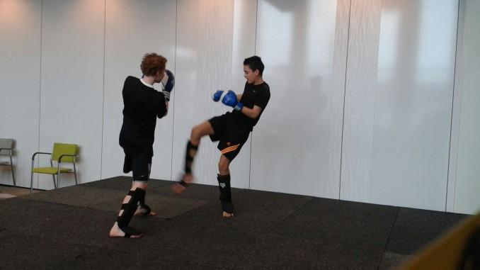 Kick en Punch