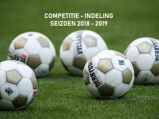 Competitie-indeling 2018-2019